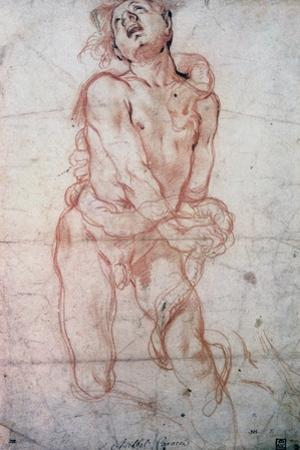 Figure Study, 1560-1609 by Annibale Carracci