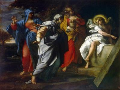 Holy Women at Christ' S Tomb, Second Half of the 16th Century by Annibale Carracci