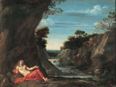 Landscape with the Penitent Magdalene, Between 1601 and 1641 by Annibale Carracci