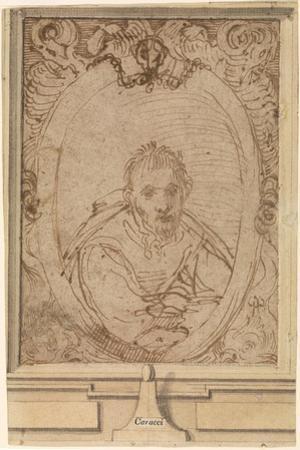 Self-Portrait, 1580S by Annibale Carracci