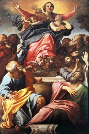 The Assumption of the Blessed Virgin Mary, 1600-1601 by Annibale Carracci