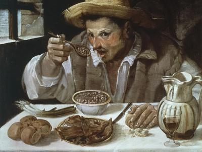 The Bean Eater, 1583-1585