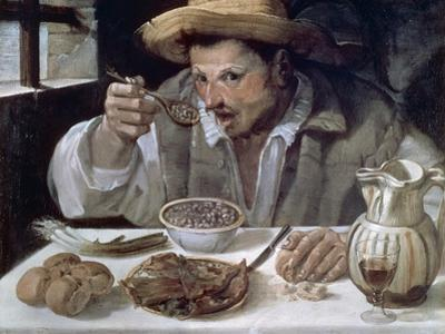 The Bean Eater, 1584-85 by Annibale Carracci