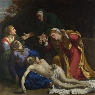 The Dead Christ Mourned (The Three Marie), Ca 1604 by Annibale Carracci
