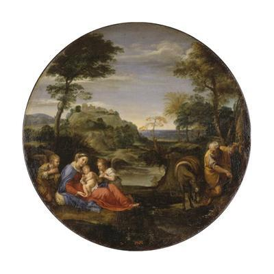 The Holy Family, C1604 by Annibale Carracci