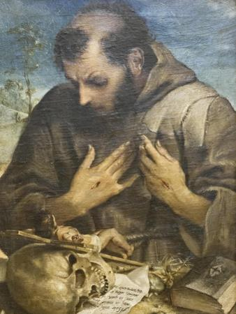 The Penitent St Francis, C.1585 by Annibale Carracci