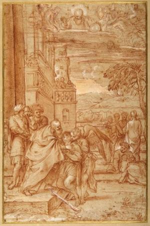 The Return of the Prodigal Son, after Annibale Carracci by Annibale Carracci