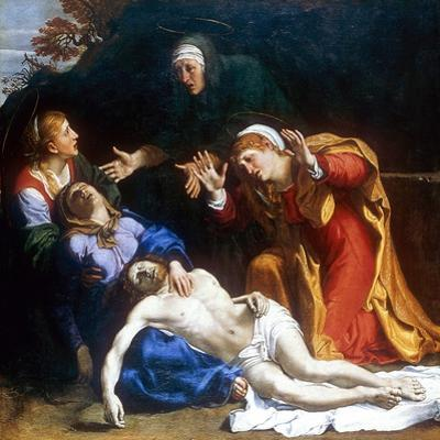 The Three Maries (The Dead Christ Mourned), C1604 by Annibale Carracci
