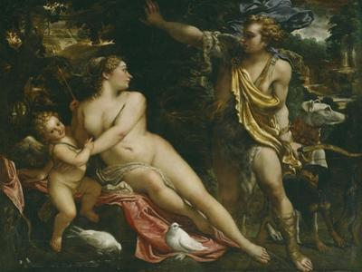 Venus, Adonis and Cupid by Annibale Carracci