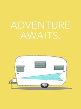 Adventure Awaits by Annie Bailey Art