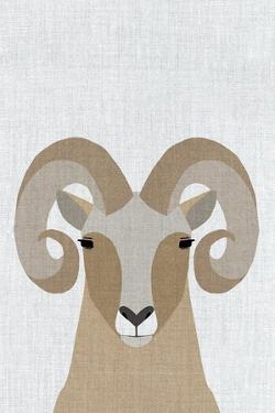 Bighorn Sheep by Annie Bailey Art