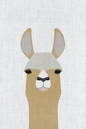 Llama by Annie Bailey Art