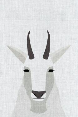 Mountain Goat by Annie Bailey Art