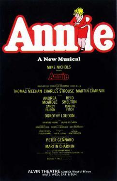 Annie - Broadway Poster , 1977