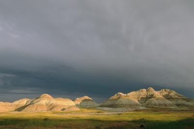 A Storm Passes over Yellow Mounds Overlook by Annie Griffiths