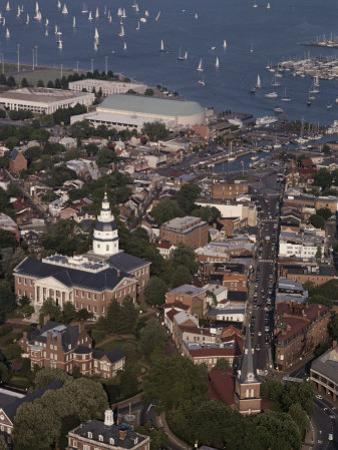 Aerial View of Annapolis by Annie Griffiths Belt