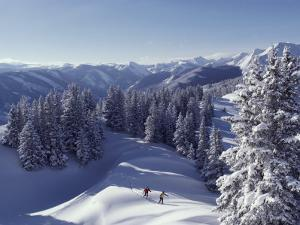 Cross-Country Skiing in Aspen, Colorado by Annie Griffiths Belt