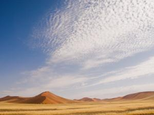 Huge Red Sand Dunes of the Namib Desert by Annie Griffiths Belt