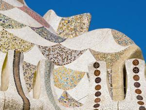 Parque De Guell, a Playful and Heavily Visited Gaudi Creation by Annie Griffiths Belt