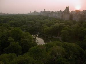 Sunrise over Central Park by Annie Griffiths Belt