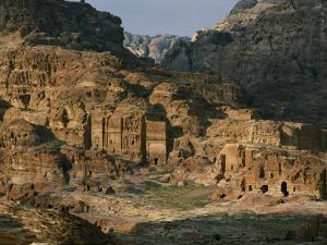The Caves and Tombs of Petra were Carved by the Nabateans over 2000 Years Ago by Annie Griffiths
