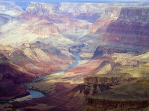 The Colorado River and the Grand Canyon from the South Rim by Annie Griffiths