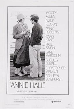 Annie Hall, Diane Keaton, Woody Allen, 1977