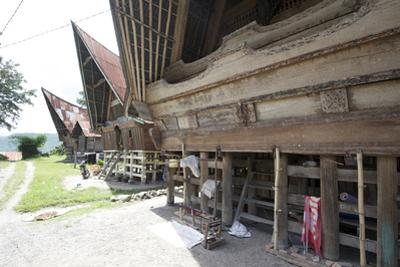Batak Style Village Houses in Buhit