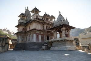 The Jagat Shiromani Hindu Temple, Dedicated to Shiva, Krishna and Meera Bhai by Annie Owen