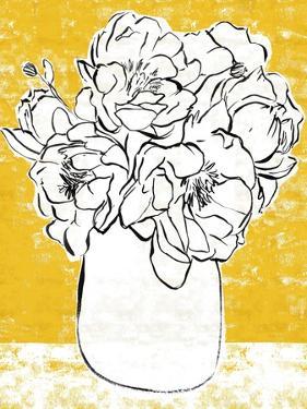 Golden Peony II by Annie Warren