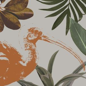 Graphic Tropical Bird VI by Annie Warren