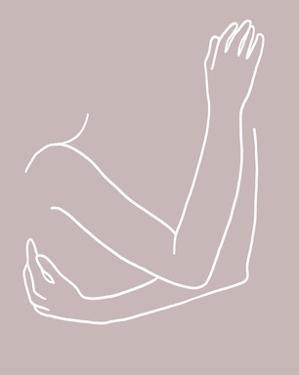 Linear Embrace I by Annie Warren