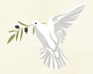 Olive Branch Dove II by Annie Warren