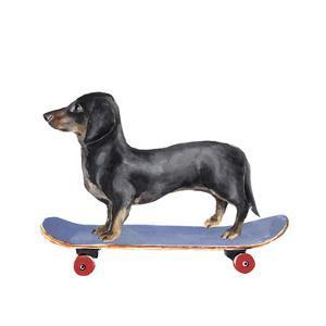 Pups on Wheels II by Annie Warren