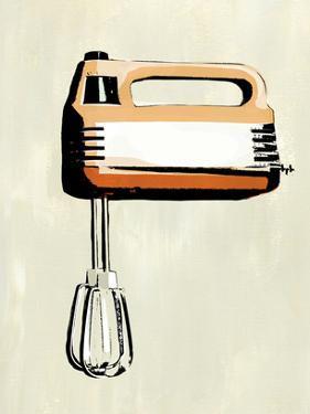 Retro Kitchen Appliance III by Annie Warren