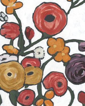 Stretching Blooms I by Annie Warren