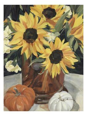 Sunflower Vase I by Annie Warren