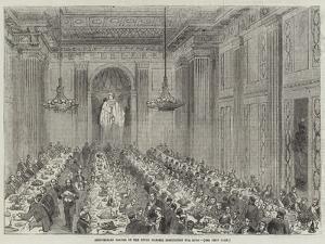 Anniversary Dinner of the Royal Masonic Institution for Boys