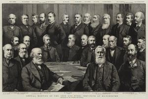 Annual Meeting of the Iron and Steel Institute at Manchester