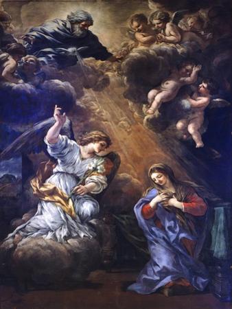 Annunciation, by Pietro Da Cortona
