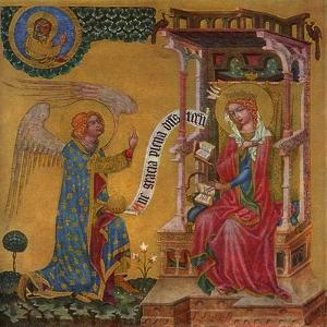 Annunciation of the Virgin Mary, C1350
