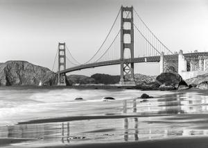 Baker beach and Golden Gate Bridge, San Francisco by Anonymous