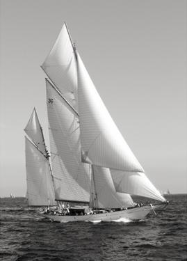 Classic sailboat by Anonymous
