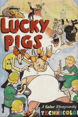 Lucky Pig by Anonymous