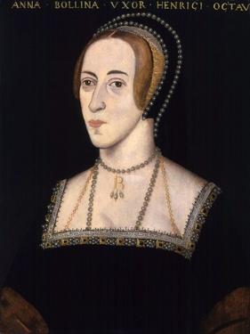 Anonymous Portrait of Anne Boleyn
