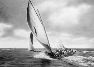 Under sail, Sydney Harbour by Anonymous
