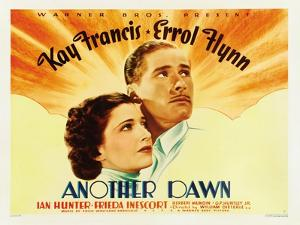 Another Dawn, Kay Francis, Errol Flynn, 1937