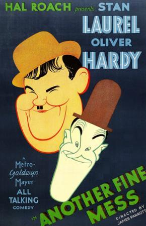 Another Fine Mess, Oliver Hardy, Stan Laurel, 1930