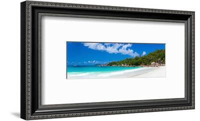 Anse Lazio Beach Praslin Island--Framed Art Print
