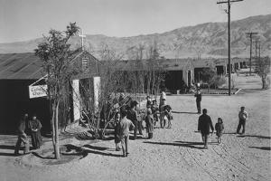 Catholic church, Manzanar Relocation Center, 1943 by Ansel Adams